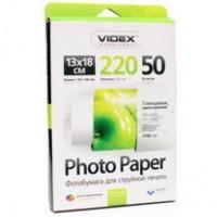 Фотобумага Videx Glossy 13х18