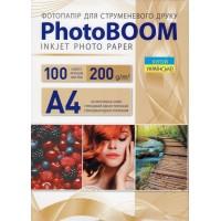 Фотобумага PhotoBoom Glossy A4\100