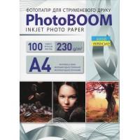 Фотобумага PhotoBoom Matte A4\100