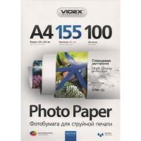 Фотобумага двусторонняя Videx Glossy A4