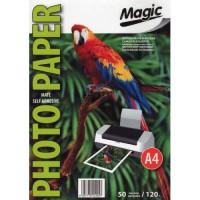 Самоклеющаяся матовая фотобумага Magic A4