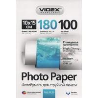 Фотобумага Videx Glossy 10x15