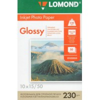 Фотобумага Lomond Glossy 10х15